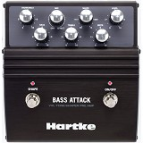 HARTKE Bass Attack Pre-Amp/Direct Box [VXL] - Guitar Stompbox Effect